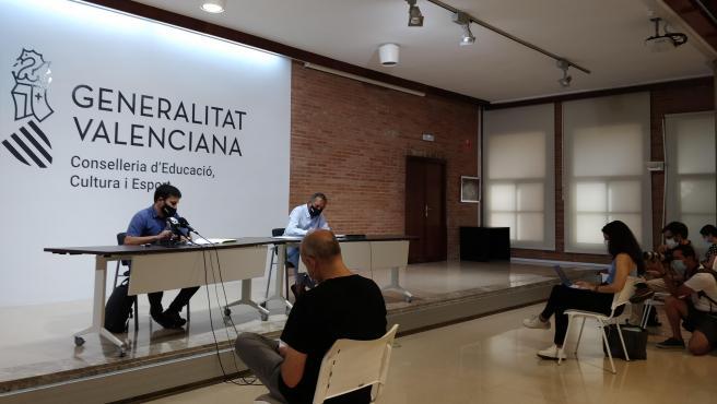 Marzà y Soler, este lunes, en rueda de prensa.