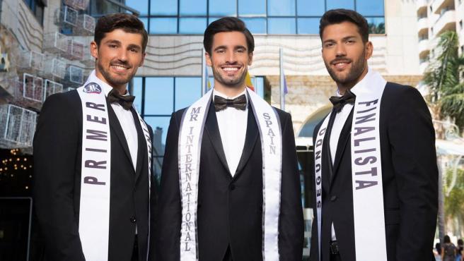 Top 3 de Míster Internacional España 2020.