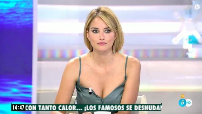 Alba Carrillo, en 'Ya es mediodía'.