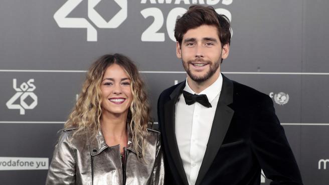 Álvaro Soler y Sofía Ellar, en 2018.