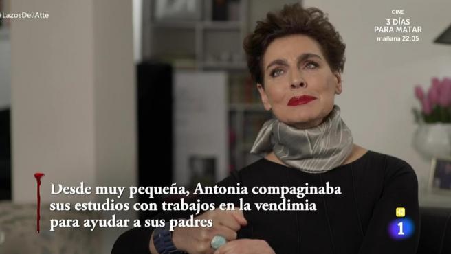 Antonia Dell'Atte, en 'Lazos de sangre'.