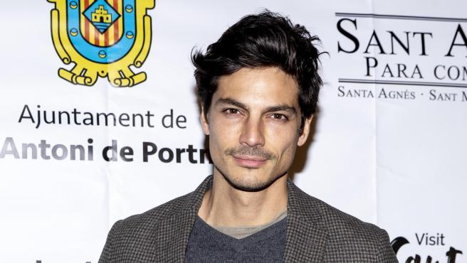 El modelo Javier de Miguel, en enero de 2020.