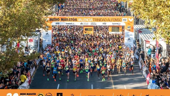 Mitja Marató València Trinidad Alfonso EDP