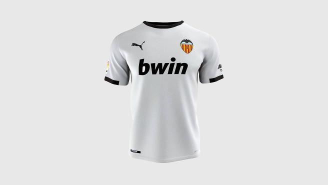 Camiseta del Valencia para la temporada 2020/21