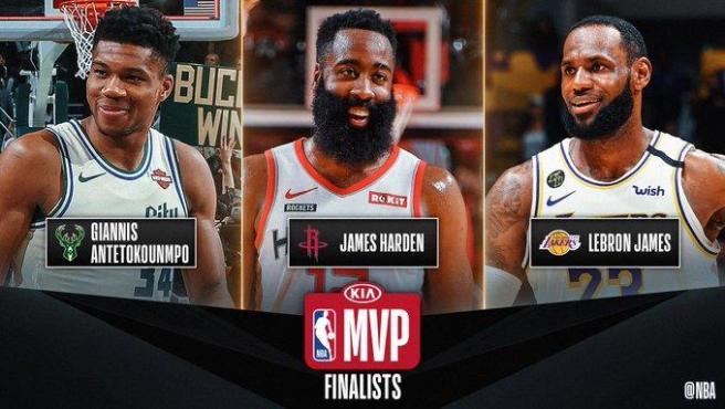 Candidatos al MVP de la NBA