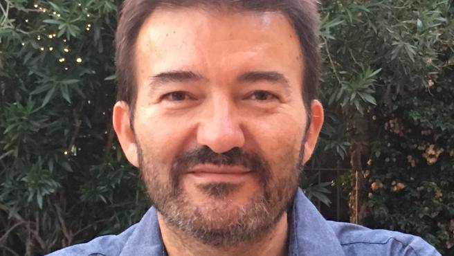 José Manuel Calvente en su etapa como abogado de Podemos.