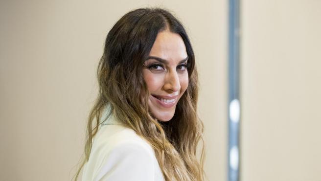 La cantante Mónica Naranjo posa en la presentación de 'La Isla de las tentaciones'.