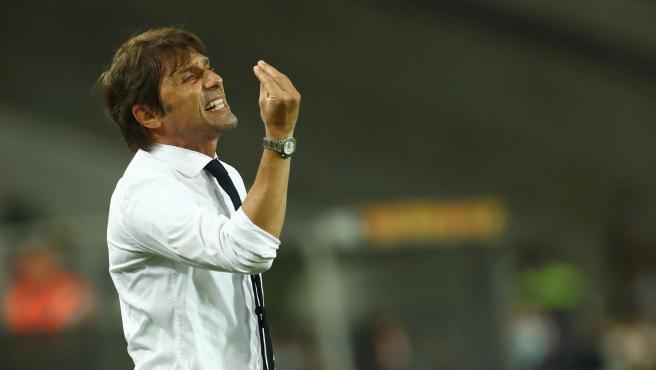 Antonio Conte, entrenador del Inter de Milán