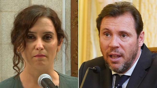 Isabel Díaz Ayuso y Óscar Puente.