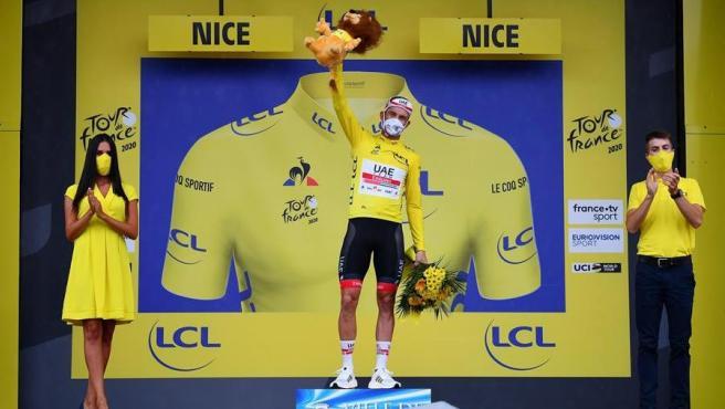 Kristoff, primer 'maillot' amarillo del Tour 2020
