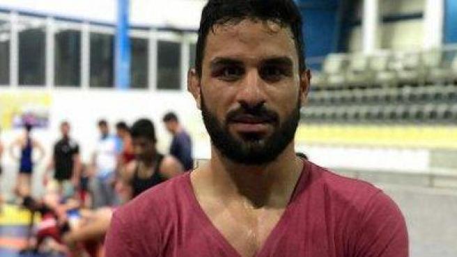 Navid Afkari, luchador iraní condenado a muerte.