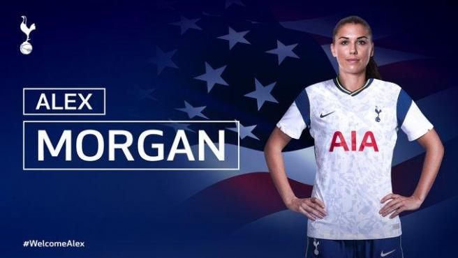 Alex Morgan vuelve al fútbol europeo para fichar por el Tottenham femenino  tras un año de inactividad