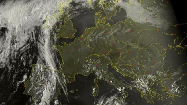 Los humos de los incendios de California llegan a España.