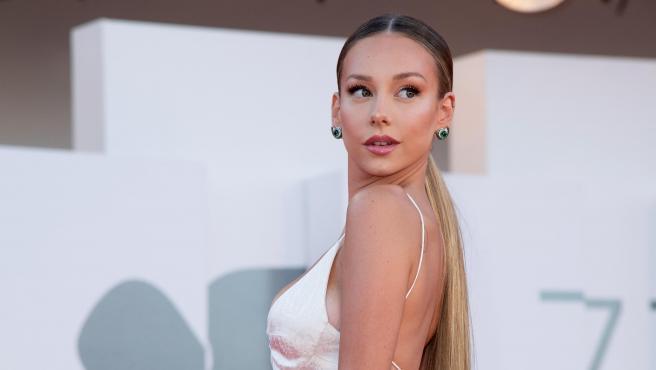 La actriz Ester Expósito, en el Festival de Venecia 2020.