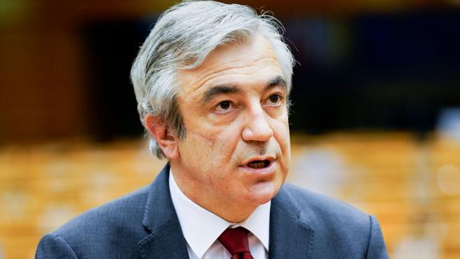El vicepresidente de Renew Europe y portavoz de Cs en el Parlamento Europeo, Luis Garicano.