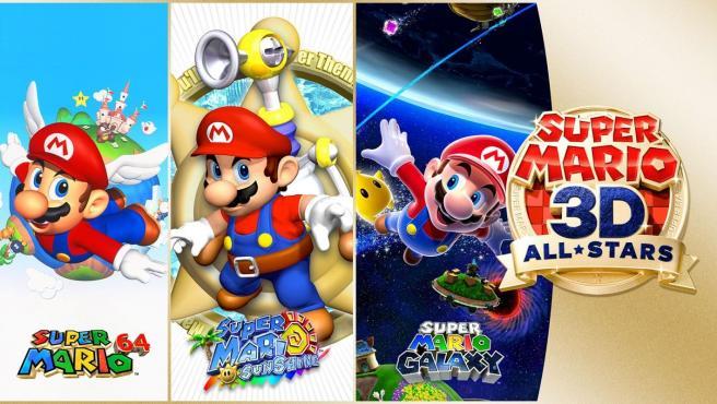 'Super Mario 3D-All Stars' para Nintendo Switch.