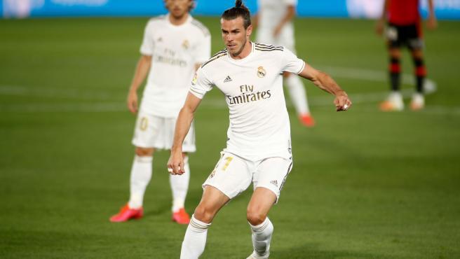 Gareth Bale, durante un partido con el Real Madrid