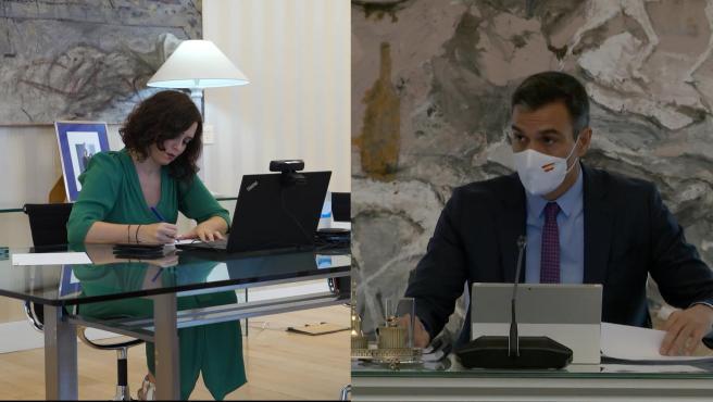 Sánchez le pide una reunión a Ayuso para abordar el avance de la pandemia en Madrid