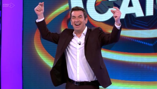 Arturo Valls, en '¡Ahora caigo!'.