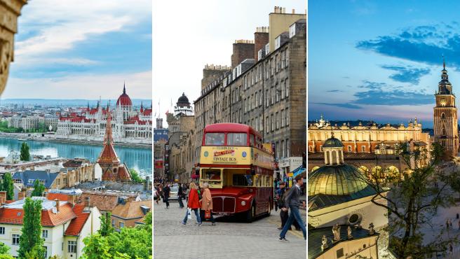 Las tres mejores ciudades de Europa para teletrabajar