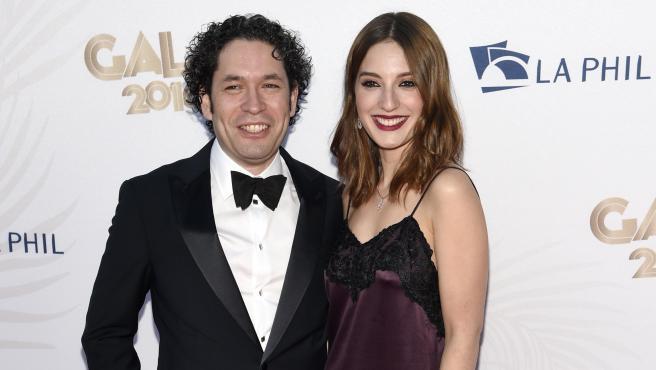 Gustavo Dudamel y María Valverde.