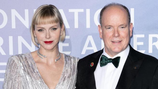 Alberto y Charlène de Mónaco, en septiembre de 2020.