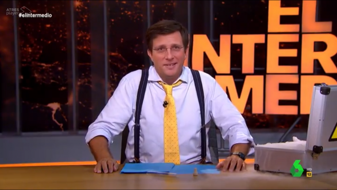 Wyoming-Almeida, en 'El intermedio'.