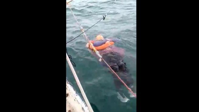 Mujer hallada en el mar tras dos años desaparecida.