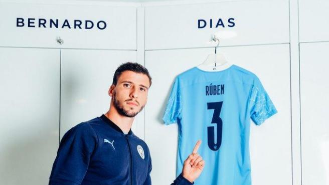 El nuevo jugador del City Rúben Dias