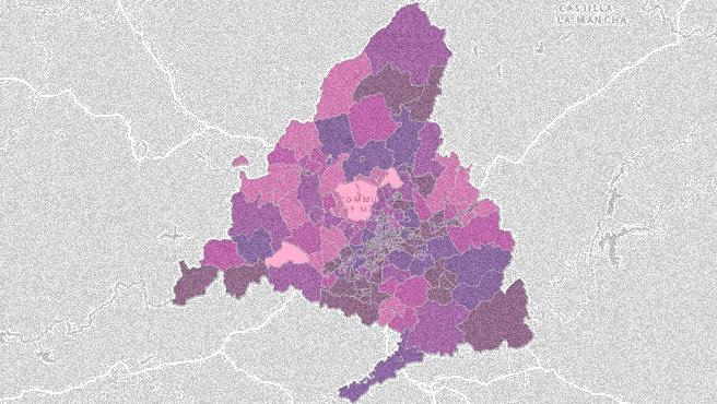 Solo 8 zonas de Madrid mantienen por debajo del umbral de incidencia.