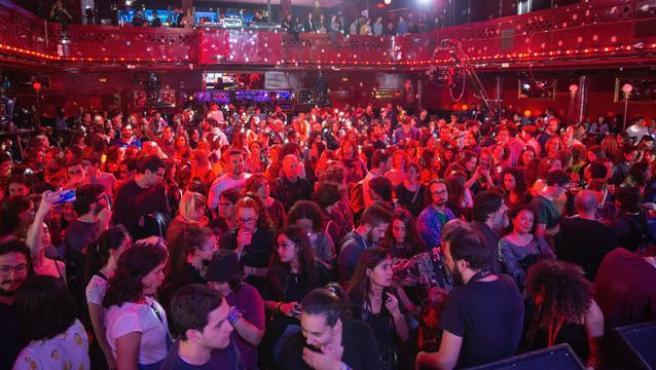 La sala Apolo de Barcelona llena durante un concierto, en una imagen del 7 de mayo del 2019.