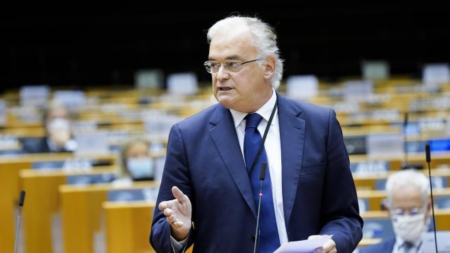 González Pons, en el Parlamento Europeo.