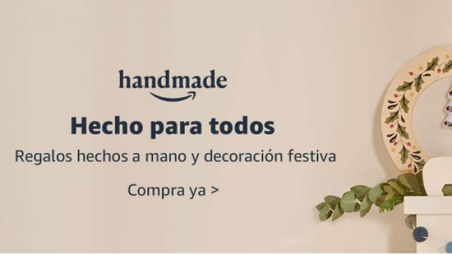 Imagen de la web de Amazon Handmade.