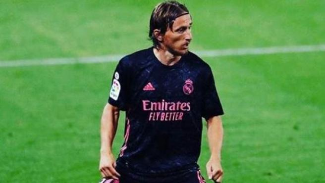 Luka Modric, en un partido del Real Madrid.