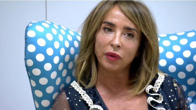 María Patiño, en 'Sálvame'.