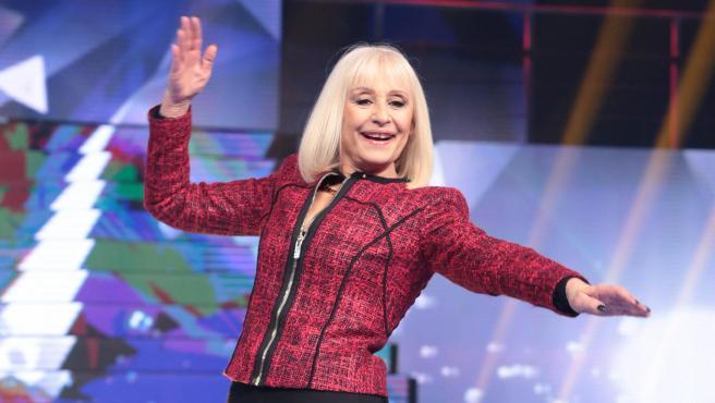 La cantante y presentadora Raffaella Carrà