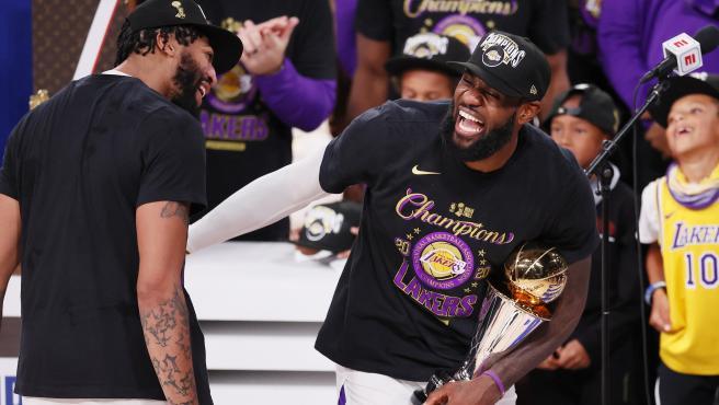 LeBron James, tras ganar el anillo de la NBA