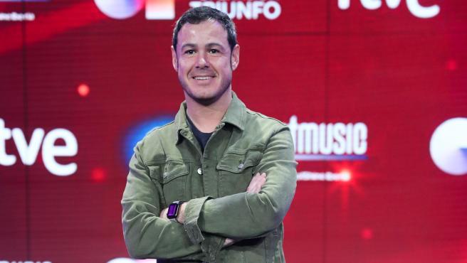 Iván Labanda en la presentación de 'Operación Triunfo 2020'.