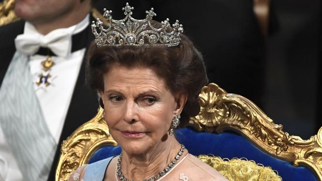 La reina Silvia de Suecia, en diciembre de 2019.