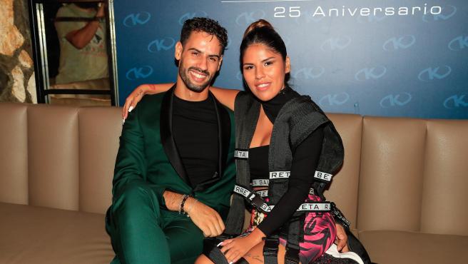 Asraf Beno e Isa Pantoja, en 2019.