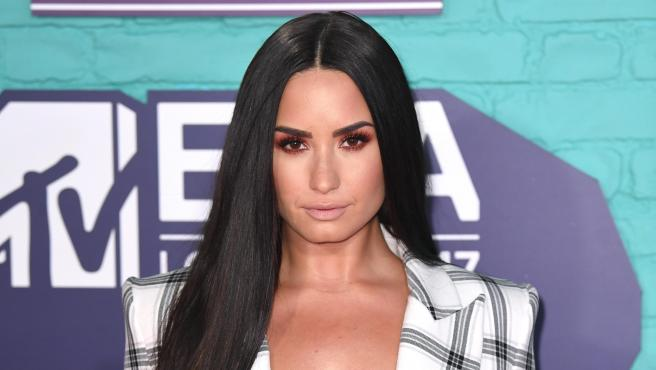 La cantante y actriz Demi Lovato.