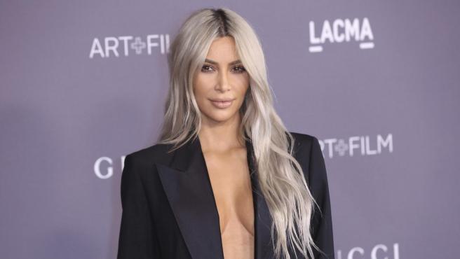 Kim Kardashian logró no estropear su pelo gracias a Olaplex.