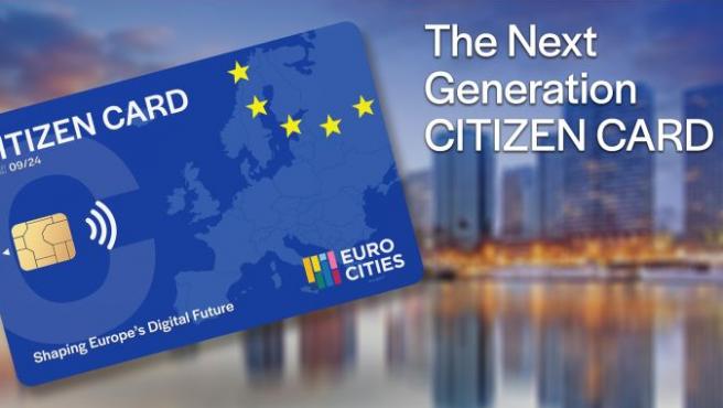 El objetivo de la tarjeta ciudadana europea es dar acceso a servicios digitales y crear 'inclusión digital'.