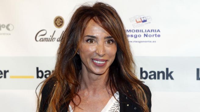 La presentadora de televisión María Patiño.