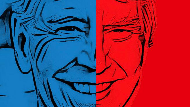 Biden y Trump, enfrentados