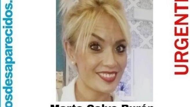 Cartell de la desaparició de Marta Calvo