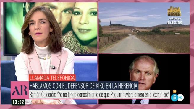 Ramón Calderón, abogado defensor de Kiko Rivera en la herencia de su padre.