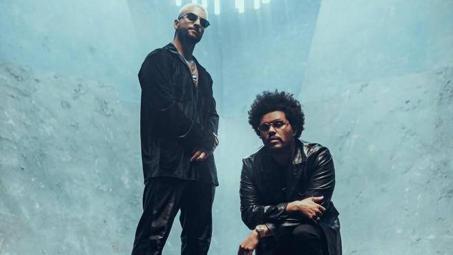 The Weeknd y Maluma en 'Hawái Remix'
