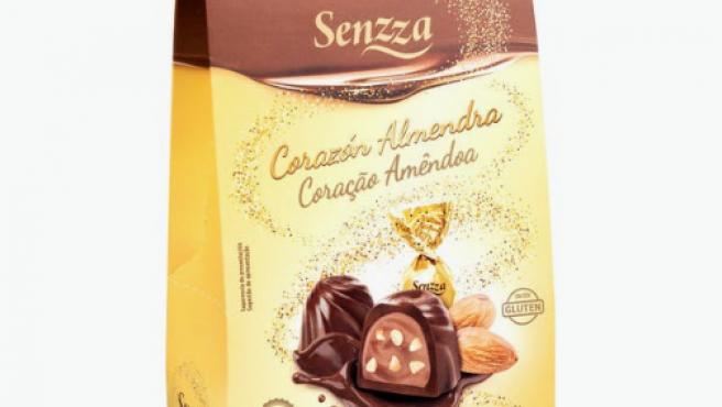 Bombones de Senzza de chocolate que se venden en Mercadona.