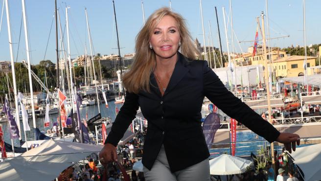 Norma Duval, en un evento en Palma de Mallorca en 2019.